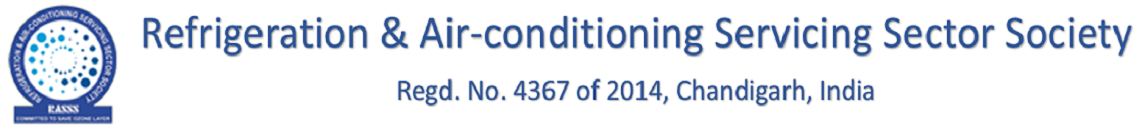 REFRIGERATION & AIR-CONDITIONING SERVICE SECTOR SOCIETY